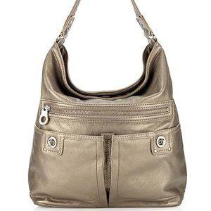 Marc Jacobs turnlock Faridah hobo leather bag